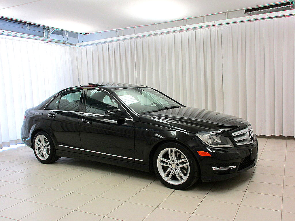 certified pre-owned 2013 mercedes-benz c-class c300 4matic awd
