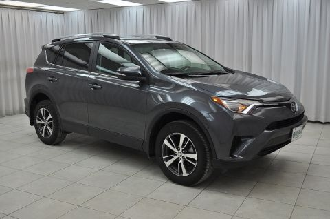 "Pre-Owned 2018 Toyota RAV4 CUSTOM PACKAGE! BE SURE TO GRAB THE BEST DEAL!! LE AWD SUV w/ CUSTOM LEATHER, BLUETOOTH, HEATED SEATS, LANE DEPARTURE WARNING, USB/AUX PORTS & 17"" ALLOYS"