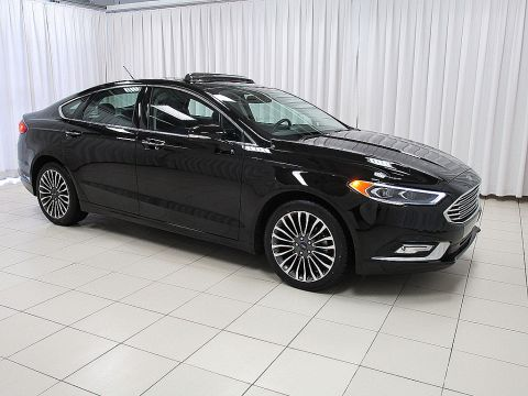 Pre-Owned 2017 Ford Fusion SE AWD SEDAN